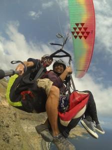 Volando en Gran Canaria