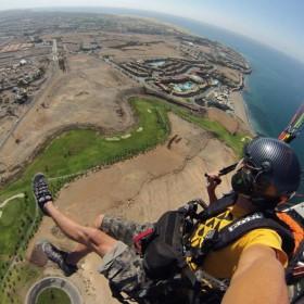 Paramotor con Aventura en Canarias