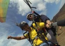 Parapente tándem con Aventura en Canarias